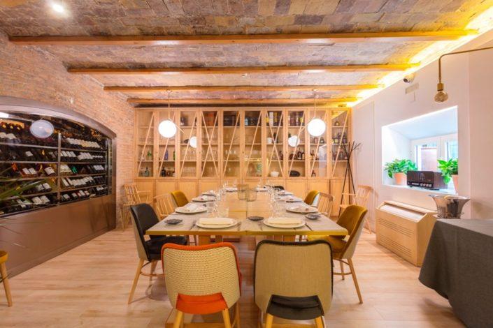 Zona Privada del restaurante María de la O