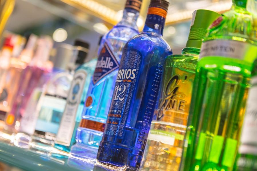 Bebidas alcoholicas para copas en María de la O
