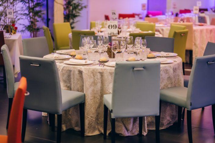 Banquete para celebración de eventos y bodas