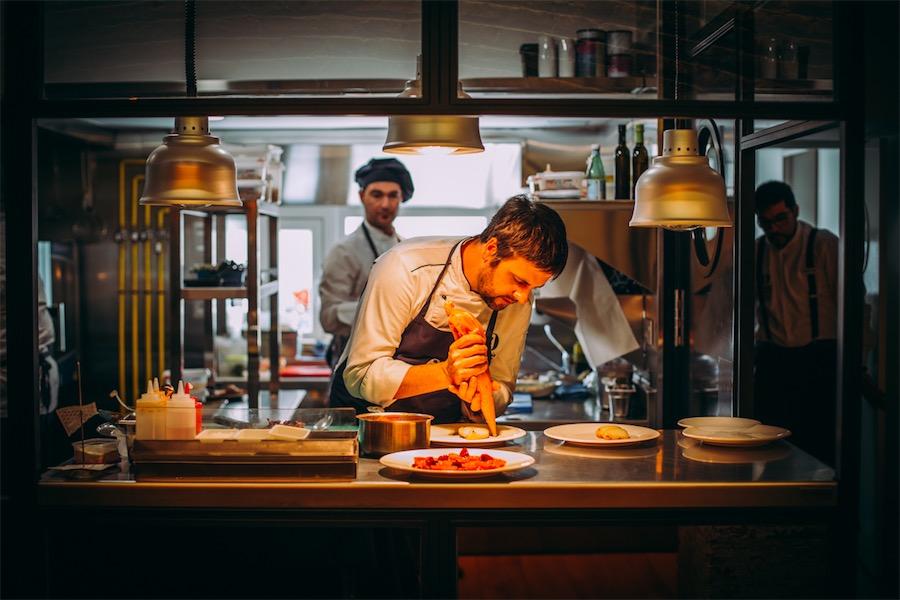 Chechu gonzalez maria de la O restaurante Granada