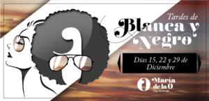 Banner promocional Blanca y Negro